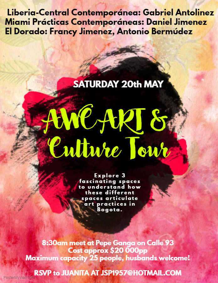Copy of Art Exhibition Flyer Template